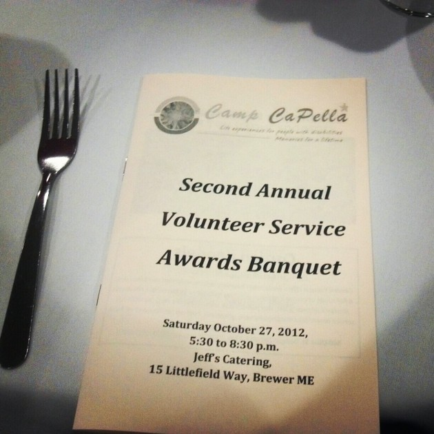 Volunteer Service Award Banquet