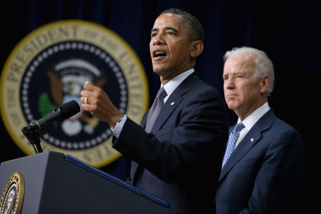 Obama And Biden .